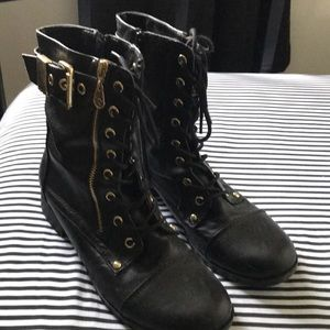 Women's Guess Combat Boots